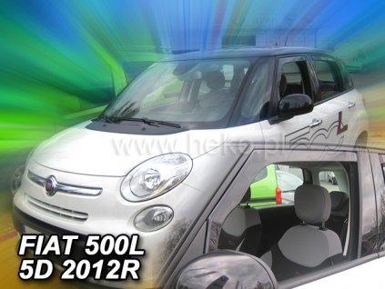 Ofuky oken Heko Fiat 500L 5D 2012- přední