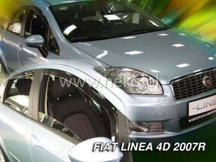Ofuky oken Heko Fiat Linea 4D 2007- přední + zadní
