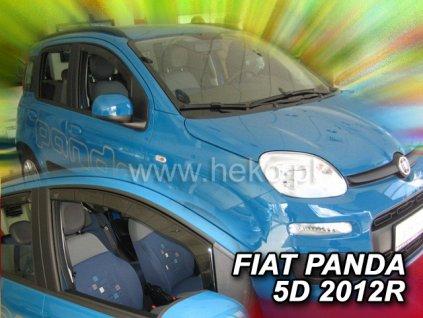 Ofuky oken Heko Fiat Panda 5D 2012- přední