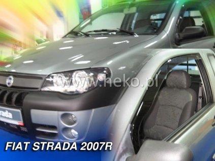 Ofuky oken Heko Fiat Strada 2D 2007- přední