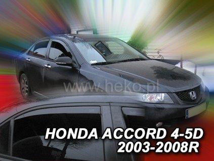 17118 Ofuky oken Honda Accord 4D 2003- přední