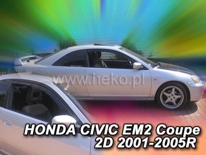 Ofuky oken Heko Honda Civic 2D EM2 coupé 2001-2005