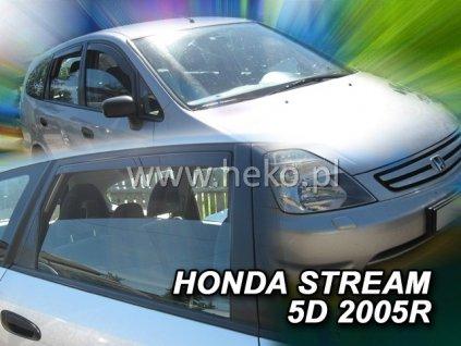 Ofuky oken Heko Honda Stream 5D 2000-2007 přední + zadní
