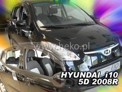 Ofuky oken Heko Hyundai i10 5D 2008- přední + zadní