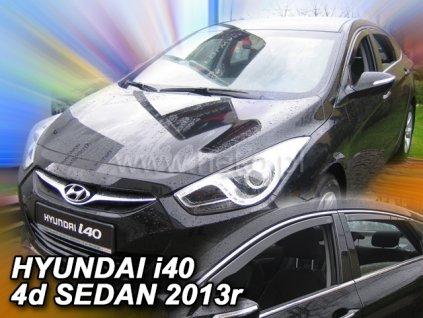 Ofuky oken Heko Hyundai i40 4D 2011- přední + zadní sedan
