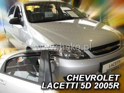10526 Ofuky oken Chevrolet Lacetti 5D 2004- přední + zadní hatchback