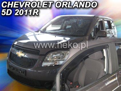 10532 Ofuky oken Chevrolet Orlando 5D 2011- přední