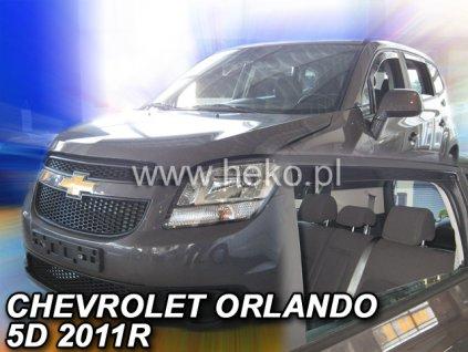 10533 Ofuky oken Chevrolet Orlando 5D 2011- přední + zadní