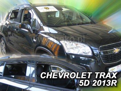 Ofuky oken Heko Chevrolet Trax 5D 2013- přední + zadní
