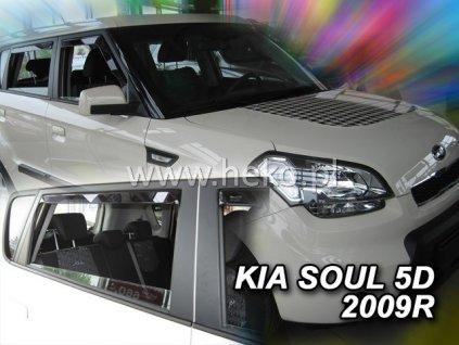 Ofuky oken Heko Kia Soul 5D 2005- přední + zadní