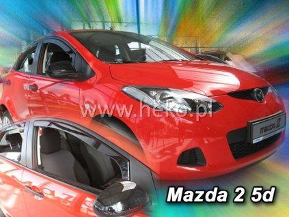 Ofuky oken Heko Mazda 2 5D 2009- přední