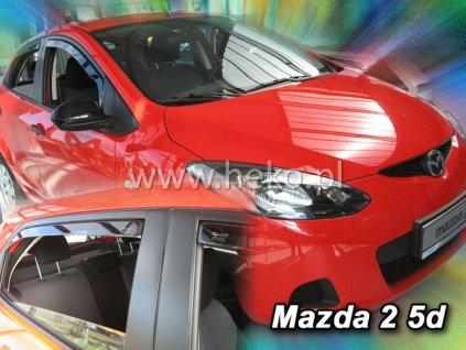Ofuky oken Heko Mazda 2 5D 2009- přední + zadní