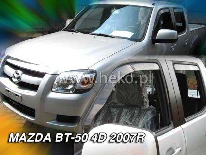 Ofuky oken Heko Mazda BT-50 4D 2007- přední + zadní