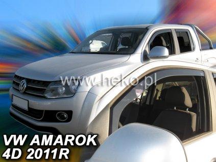 Ofuky oken Heko Volkswagen Amarok 4D 2011- přední