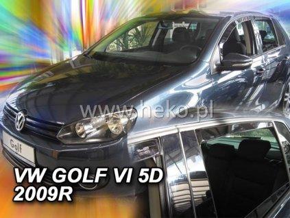 Ofuky oken Heko Volkswagen Golf VI 5D 2008- přední + zadní