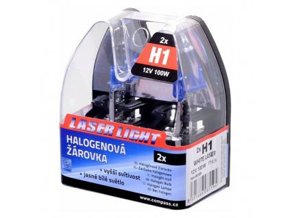 Žárovka 12V H1 100W WHITE LASER 2ks