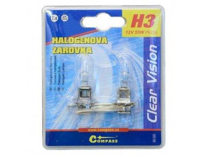 Žárovka H3 55W 2ks DBB