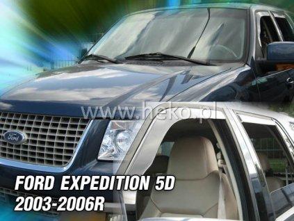 15285 Ofuky oken Ford Expedition 5D 2003-2006 přední + zadní