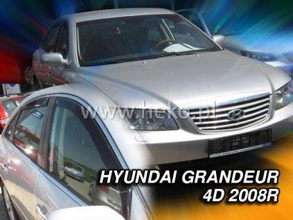 17254 Ofuky oken Hyundai Grandeur TG 4D 2005-2011 přední + zadní