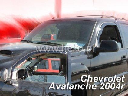 Ofuky oken Heko Chevrolet Avalanche 4D 2002-2006 přední