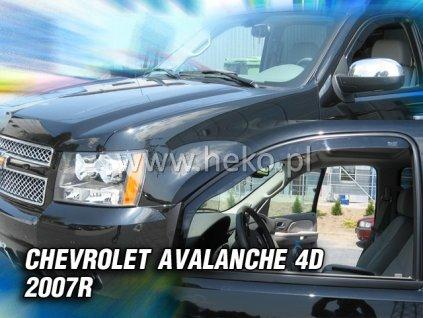 Ofuky oken Heko Chevrolet Avalanche 4D 2007- přední