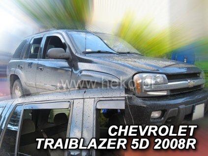 Ofuky oken Heko Chevrolet Traiblazer 5D 2002-2009 přední + zadní
