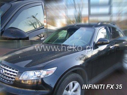 Ofuky oken Heko Infiniti FX35/45 5D 2004- přední