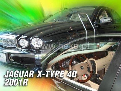 Ofuky oken Heko Jaguar X-Type 4D 2001- přední