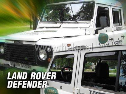 Ofuky oken Heko Land Rover Defender 4D 1989- přední + zadní