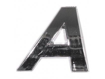Znak A samolepící PLASTIC