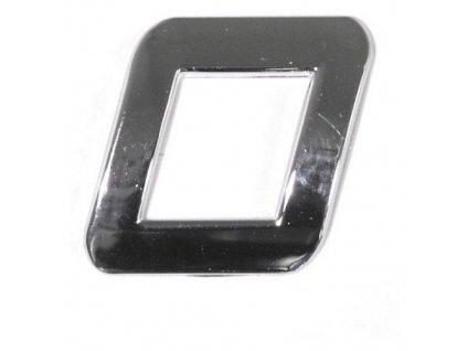 Znak 0 samolepící PLASTIC