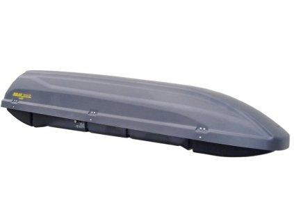 Střešní box HAKR Relax 310 Z - šedý