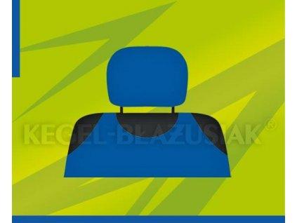 Potah opěrky hlavy světle modrý