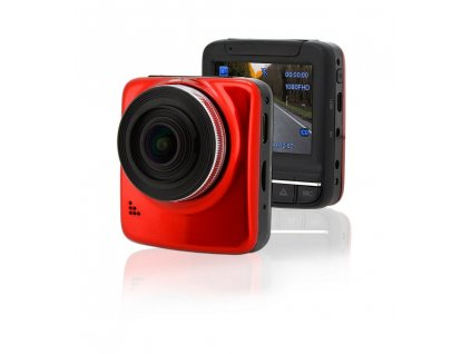 """Autokamera - Kamera do auta Full HD 2,4"""" červená GPS"""