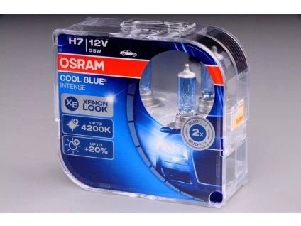 Žárovka H7 12V 55W PX26d COOL BLUE Intense 2ks box OSRAM