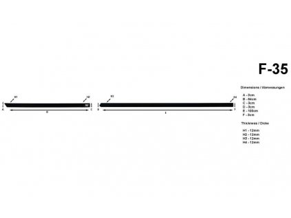 60492 bocni listy na dvere rider ford ecosport 2014 f35