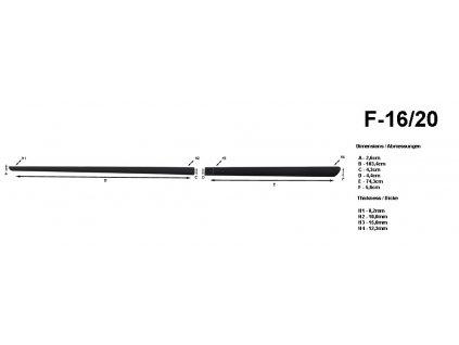 25056 bocni listy na dvere rider honda insight 2011 f16 20