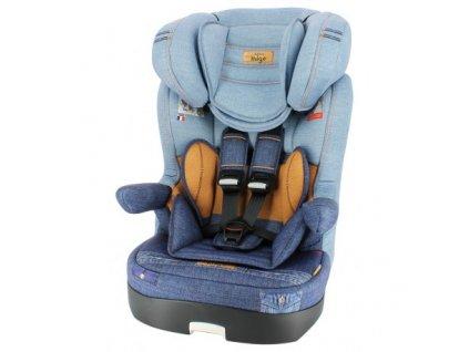 Autosedačka Nania Myla Premium - Denim Blue 9-36kg