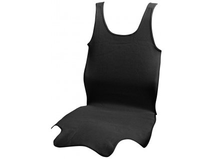 Autopotah sedadla TRIKO SOFT přední 1ks černý