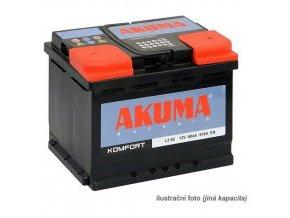 Autobaterie AKUMA 12V 71 Ah 680A Komfort