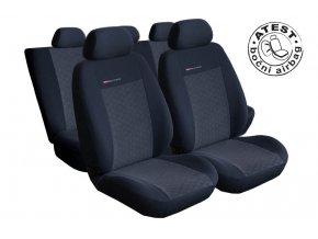 Autopotahy Seat Arosa, 3 dveř, od r. 1997-2005, antracit
