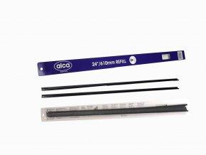 Gumičky do stěračů grafitové Alca 600mm