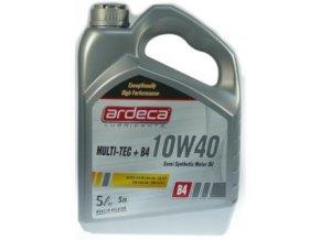 Motorový olej Ardeca 10W40 MULTI TEC + B4 5L