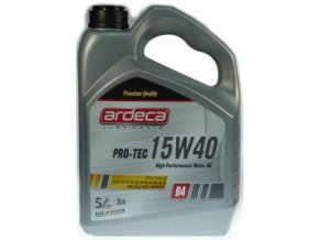 Motorový olej Ardeca 15W40 PRO TEC 5 L