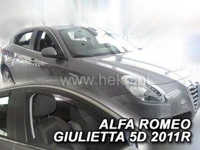 Ofuky oken Heko Alfa Romeo Giulietta 5D 2010- přední