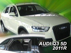 Ofuky oken Heko Audi Q3 5D 2011- přední + zadní