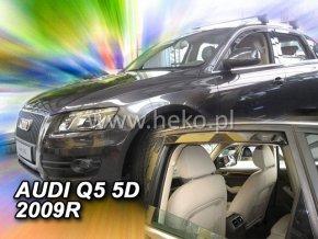 Ofuky oken Heko Audi Q5 2009- přední + zadní