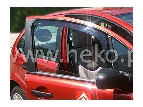 Ofuky oken Citroen C3 5D 2002- přední