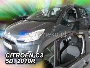 Ofuky oken Heko Citroen C3 5D 2010- přední
