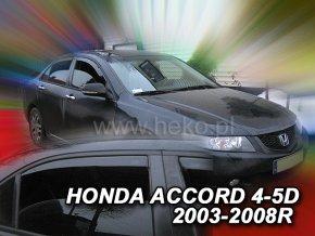 Ofuky oken Heko Honda Accord 4D 2003- přední